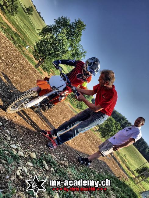Geburtstagsgeschenk lernen von Profis, mit dem eigenen Bike