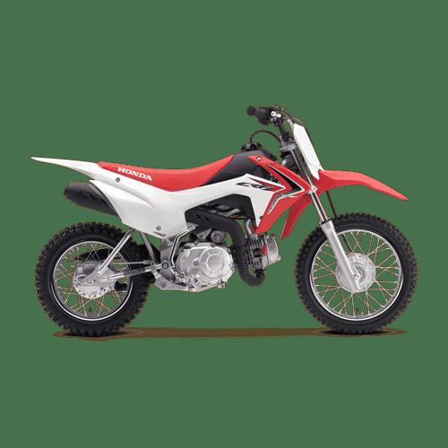 Motocross Motorrad CRF110