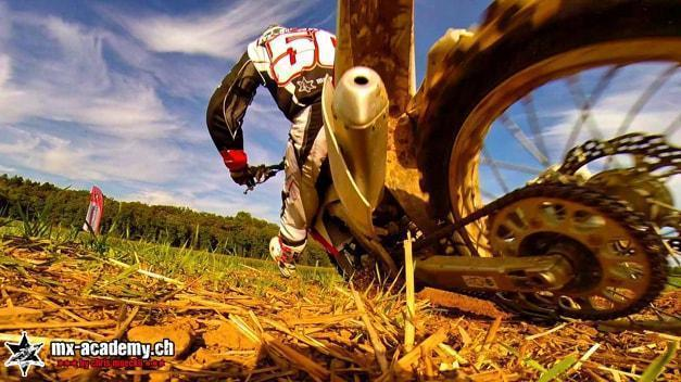 Motocross Kurven Training