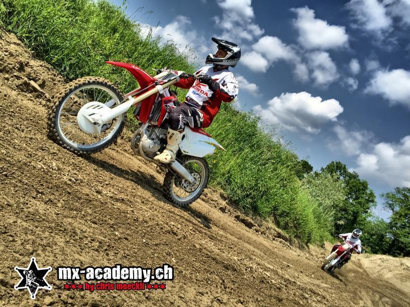 Birthday present Switzerland riding Motocross and rent all material