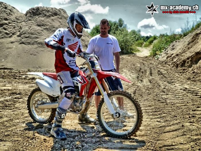 Cours d'initiation au Motocross