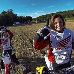Femmes Moto cross