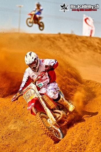 Courses de moto cross à Dubai