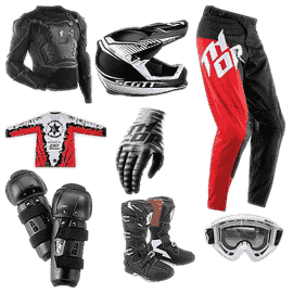 Motocross gear cheap