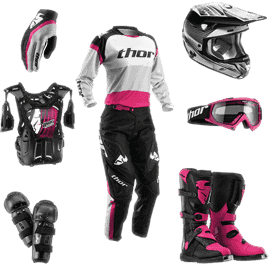 Motocross equipment for women