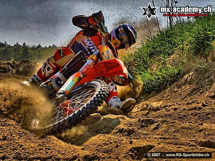 Motocross race in Switzerland