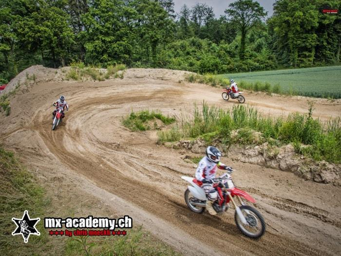 Motocross riding Switzerland at MX-Academy